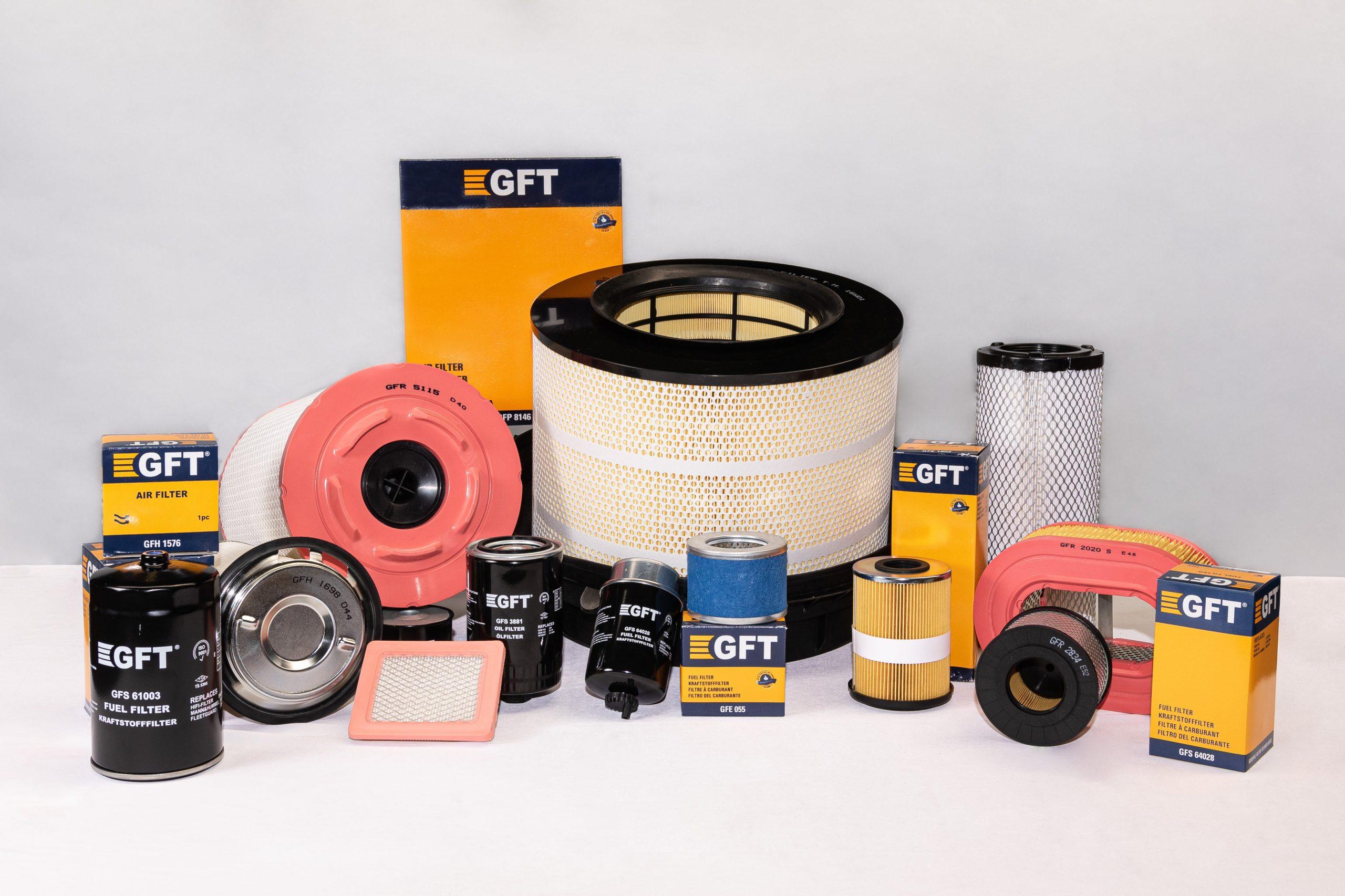 GFT Filtersortiment
